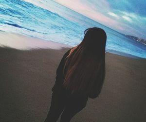 sea, dark, and tumblr image