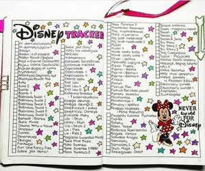 disney, note, and notebook image