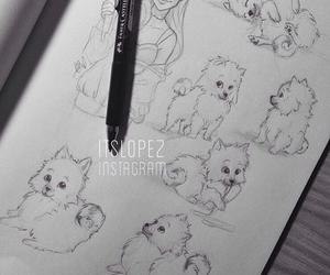 itslopez, art, and dog image