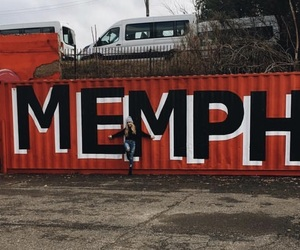 girl, memphis, and photo image