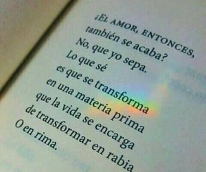 books, love, and frases image