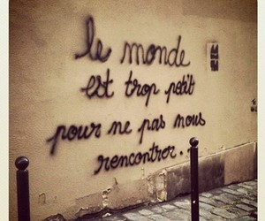 world, french, and quotes image