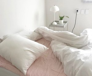 room, white, and pastel image