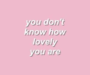 quotes, pink, and lovely image