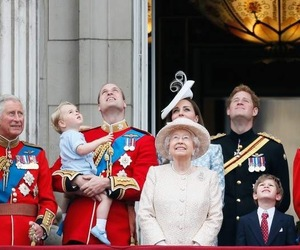 prince harry, Queen, and prince william image