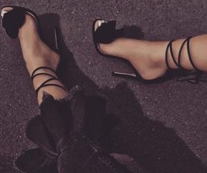 bae, girl, and heels image