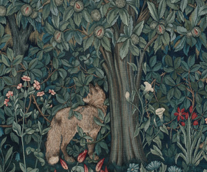 1892, tapestry, and william morris image