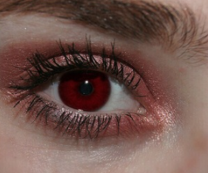 dark red, eye, and eye color image