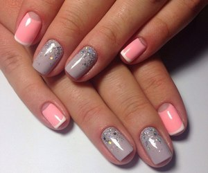manicure, nails, and fashion image