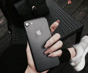 black, iphone, and iphone 7 image