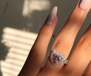 diamonds, heart, and nails image