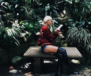 fashion, green, and plants image