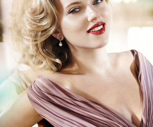 actress, pretty, and Scarlett Johansson image