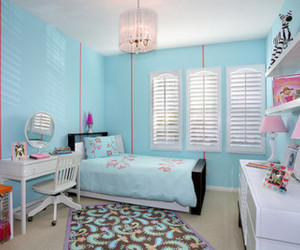 girl, house, and room image