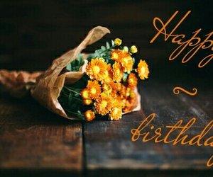 flowers, orange, and happy image