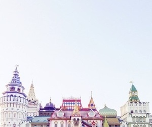 buildings, colorful, and moscow image