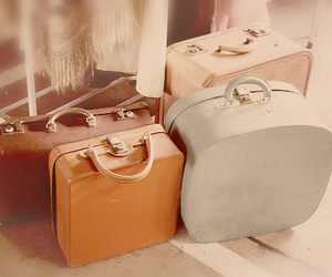 bag, bags, and leather image