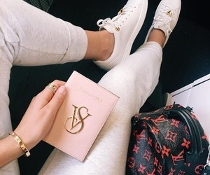 fashion, Louis Vuitton, and travel image