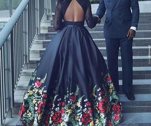 love, black, and dress image