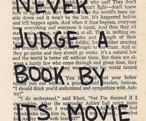 movie, readers, and book image