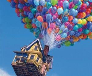 disney, pixar, and up image