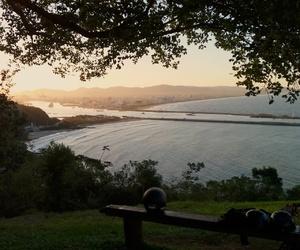 photo, sea, and sunset image