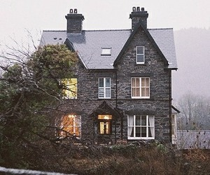 house and vintage image
