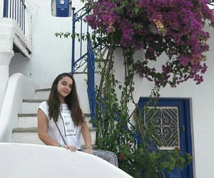 flowers, cyclades, and Greece image