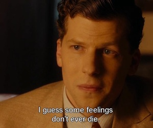 feelings, cafe society, and feelings don't ever die image