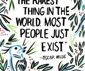 quotes, life, and oscar wilde image