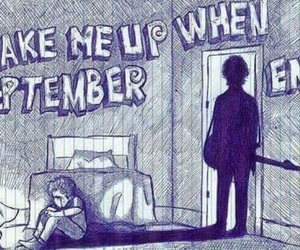 green day, song, and September image