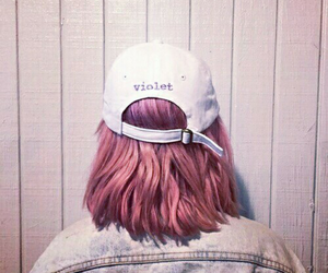 hair, hey violet, and aesthetic image