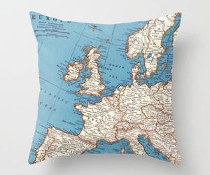 etsy, map of europe, and travel decor image