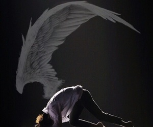 angel, wings, and tae image