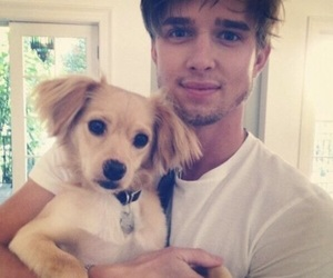 drew van acker, pretty little liars, and dog image