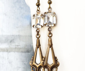 1920s, etsy, and artdecoearrings image