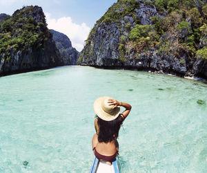 beach, bikini, and Philippines image