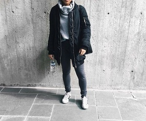classy, cozy, and outfit image