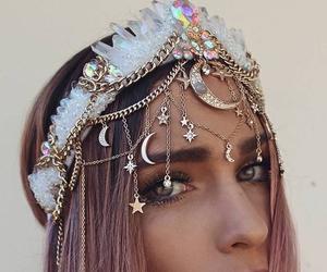 crown, fashion, and girl image