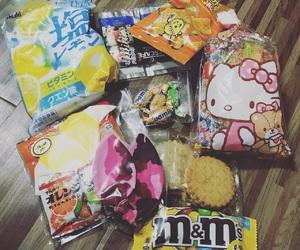 japan, snacks, and asian food image