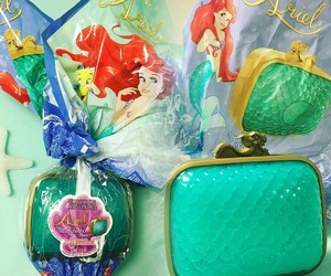 bag, handbags, and mermaids image