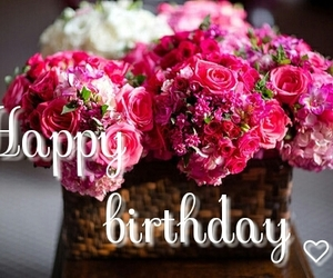 beauty, pink, and happybirthday image