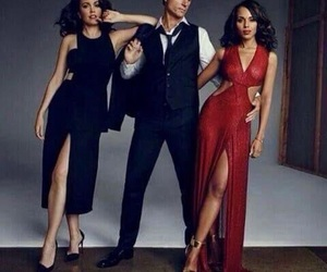 scandal, love triangle, and bellamy young image