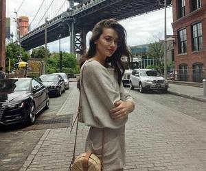 city, new york, and fashion image