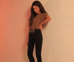 girl, korean, and korean fashion image