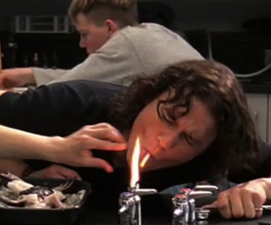 10 things i hate about you, art, and cigarette image