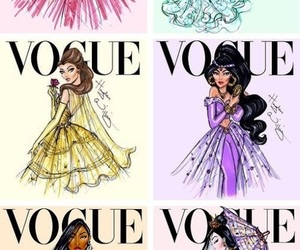 princess, disney, and vogue image