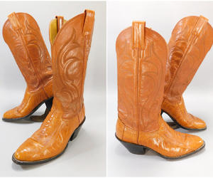 cowboy boots, etsy, and vintage boots image