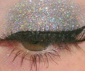aesthetic, eyeliner, and eyes image