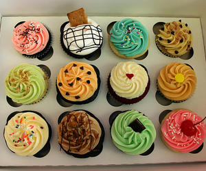 cupcake, yummy, and food image
